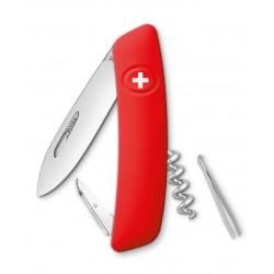 Нож перочинный SWIZA D01, красный