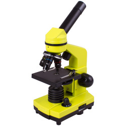 Микроскоп Levenhuk Rainbow 2L LimeЛайм